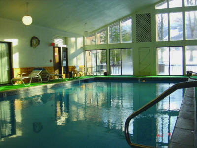 Cascades Lodge Indoor Pool, Killington Vermont